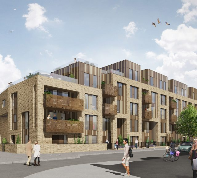 New residential development in the heart of London